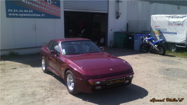 Porsche 944 refection moteur