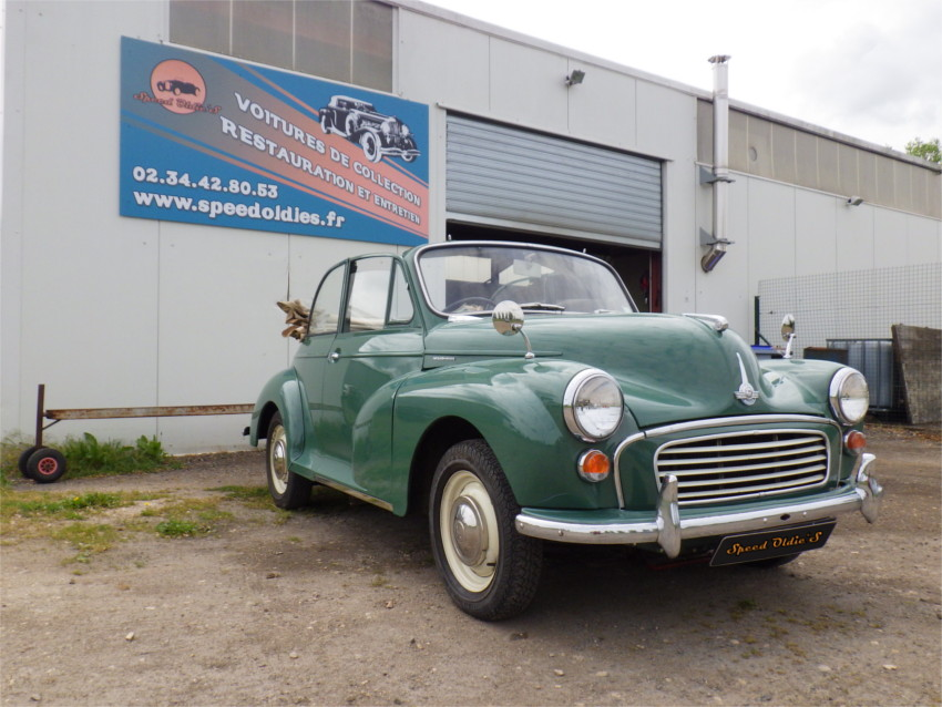 Refection moteur reconditionnement morris minor 1000 cabriolet cab engine
